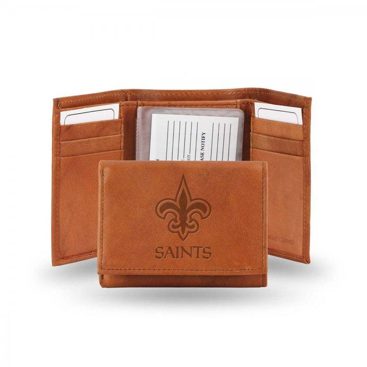 New Orleans Saints Tri-Fold Wallet