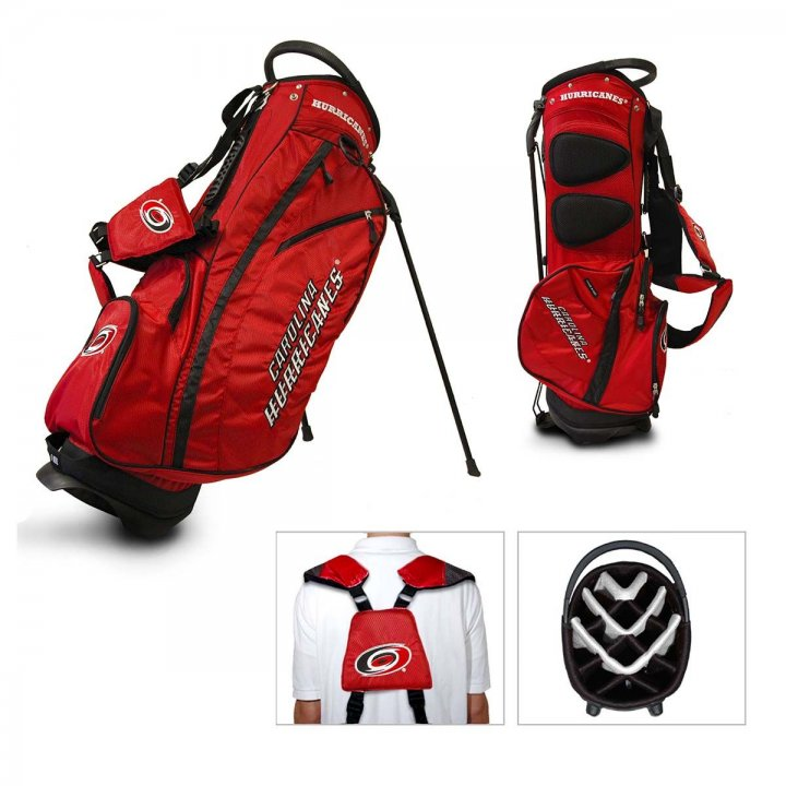Carolina Hurricanes Fairway Stand Bag