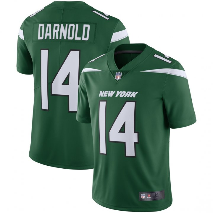 Franklin Sports Youth Kids 14 Sam Darnold New York Jets Jersey Green