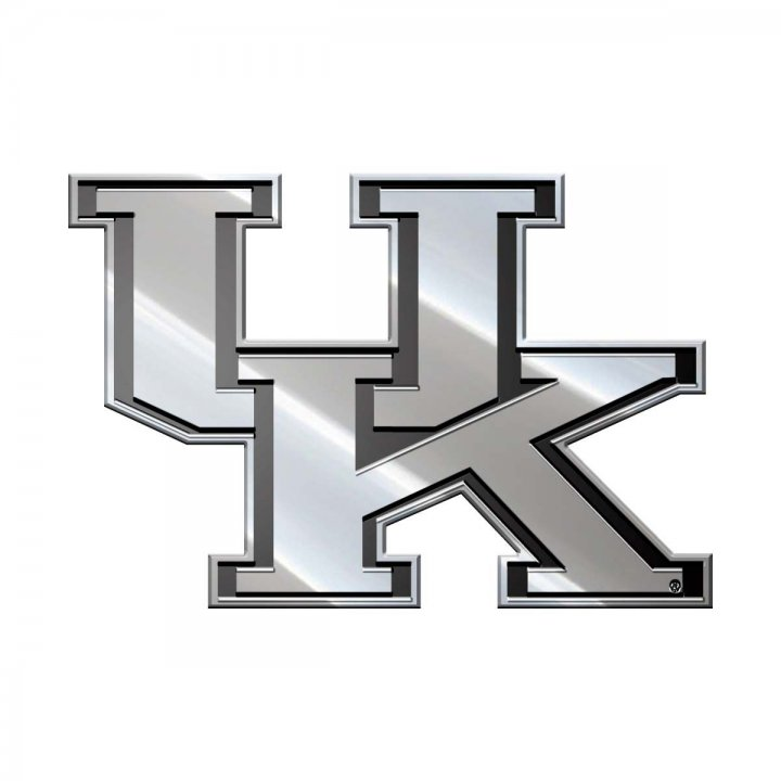 Kentucky Wildcats Metal Emblem