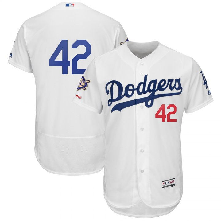 Majestic Athletic Los Angeles Dodgers 2019 #42 Jackie Robinson Day Men