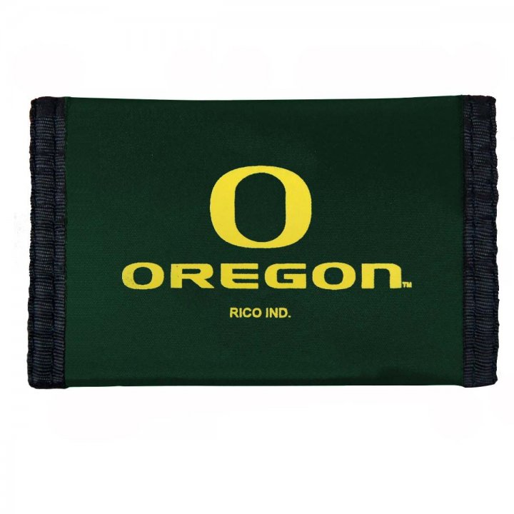 Oregon Ducks NCAA Nylon Wallet (Green)