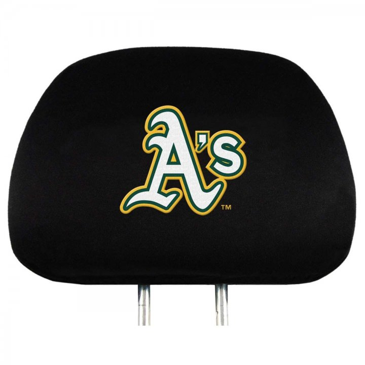 Oakland Athletics Head Rest Cover
