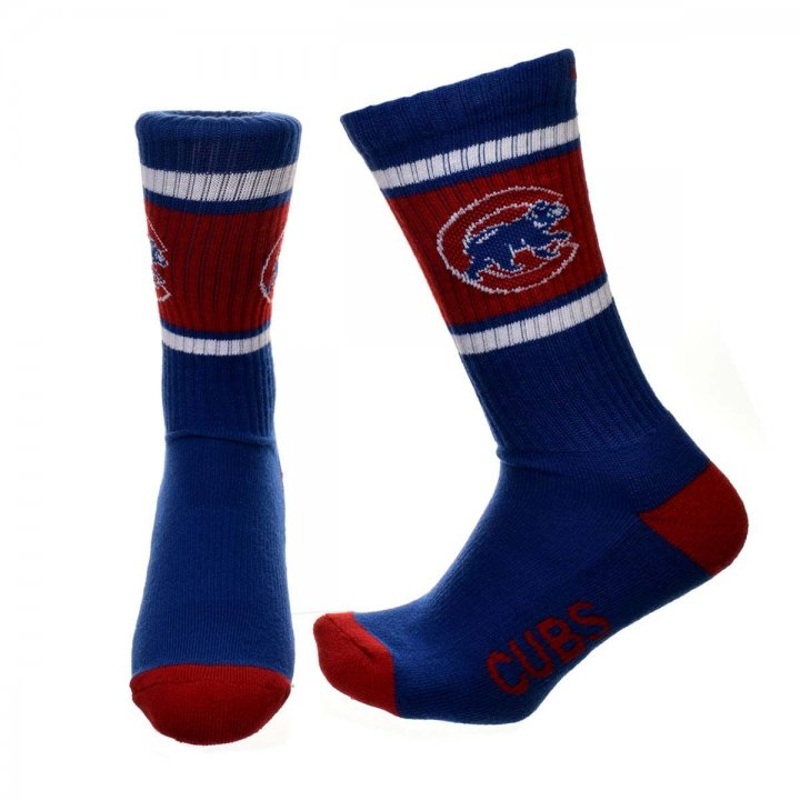 Chicago Cubs MLB Duster 47 Sport Sock (Royal)