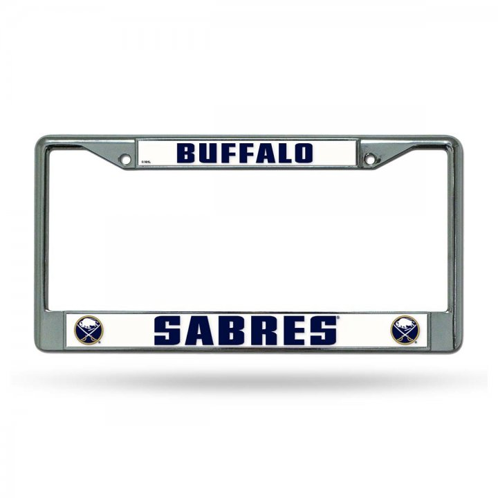 Buffalo Sabres NHL Chrome License Plate Frame