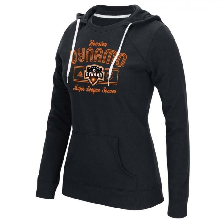 Houston Dynamo MLS Box Line Arch Crewdie Hood (Black)