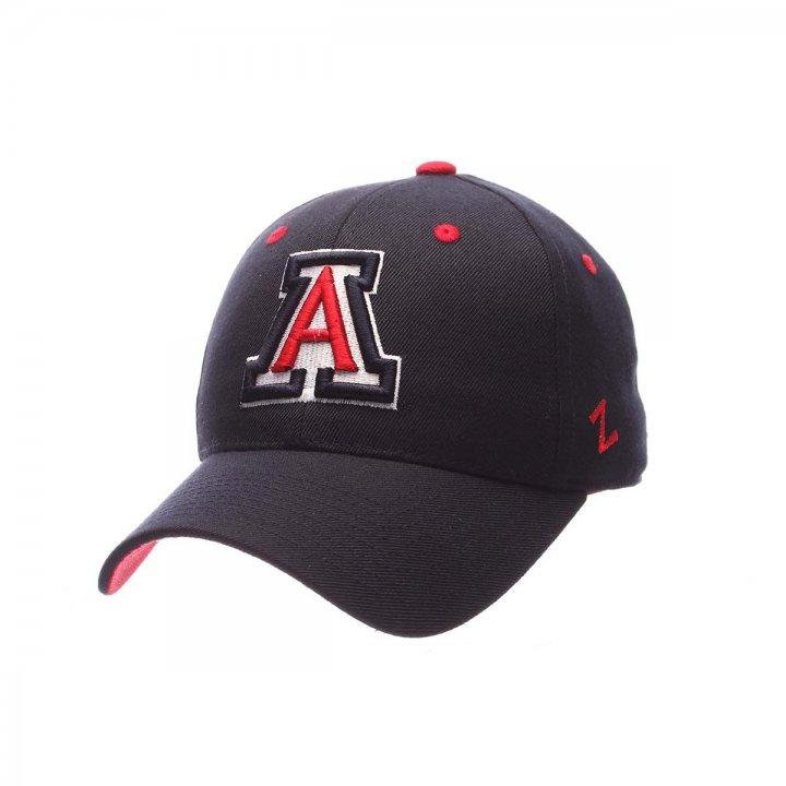 Arizona Wildcats Zephyr NCAA Dh Fitted Hat (Navy)