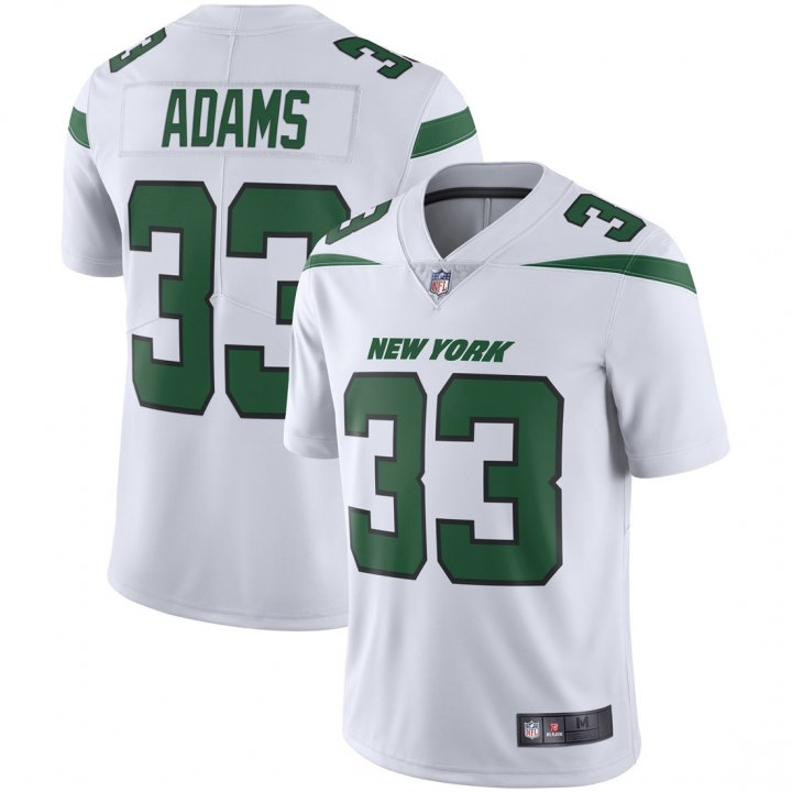 Franklin Sports Youth Kids 33 Jamal Adams New York Jets Jersey White
