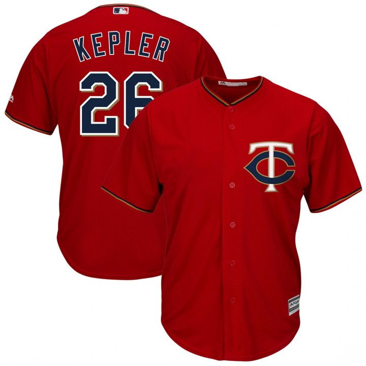 Outerstuff Youth Kids Minnesota Twins 26 Max Kepler Baseball Player Jersey Scarlet Red