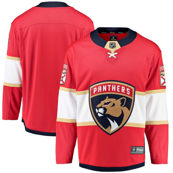 Florida Panthers NHL Mens Home Breakaway Jersey (Red)