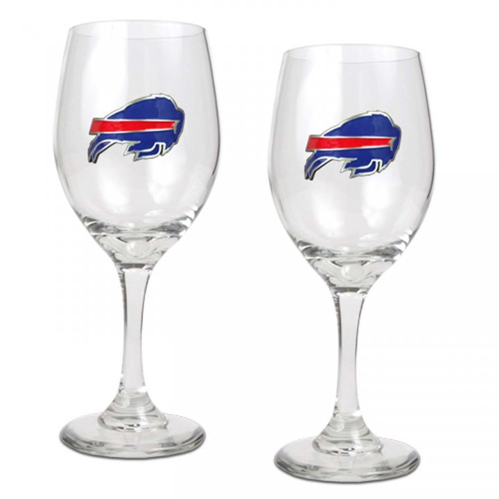 Buffalo Bills Buffalo Bills 2 Piece Wine Glass Set