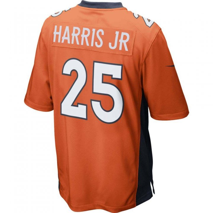 Chris Harris Jr Denver Broncos Nike Game Jersey (Orange)