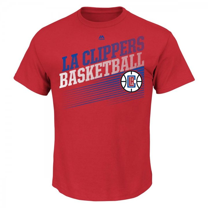 Los Angeles Clippers Winning Tactic T-Shirt (Red)