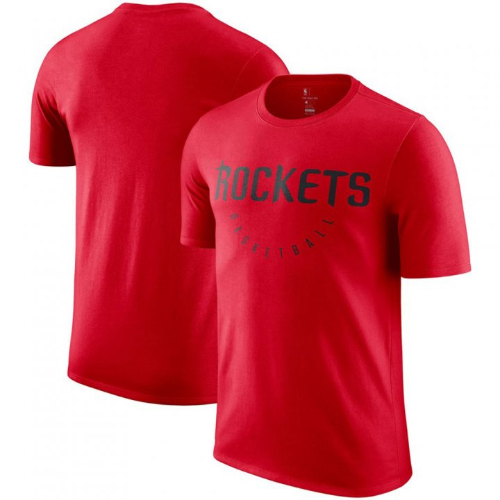 Franklin Sports Houston Rockets Practice Legend Performance Red T-Shirt