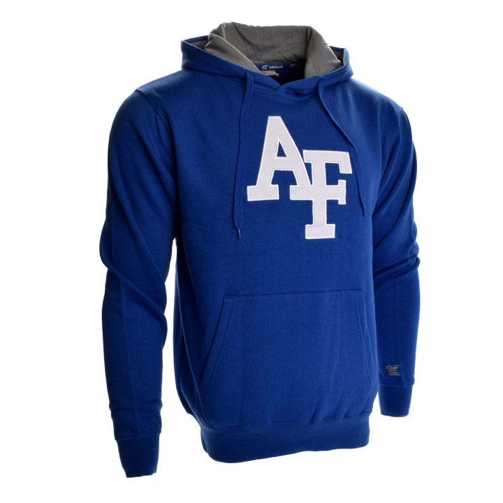 Air Force Falcons Zone II Pullover Hoodie (Royal)