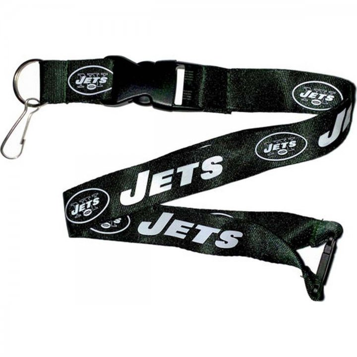New York Jets Logo Lanyard (Green)