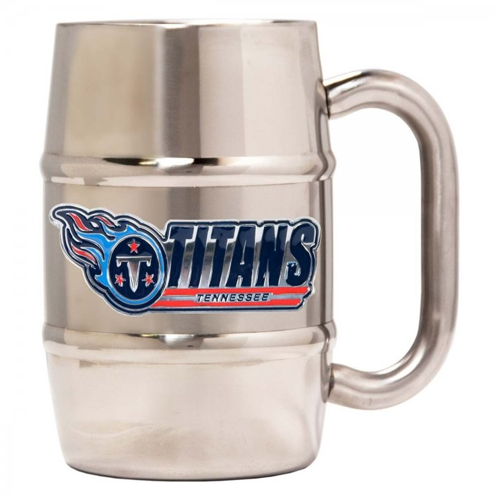 Tennessee Titans Tennessee Titans 16 oz Double Wall Stainless Steel Mug