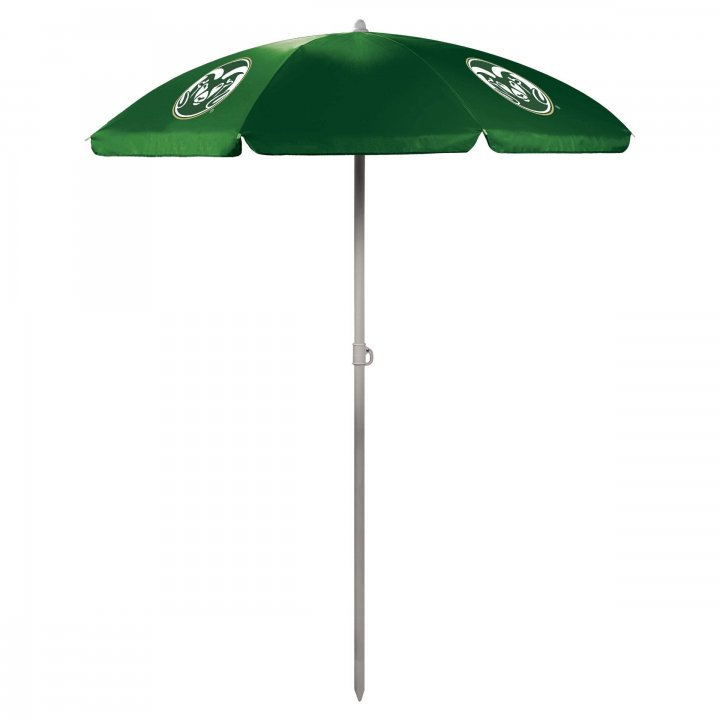 Colorado State Rams 5.5ft Portable Beach/Picnic Umbrella