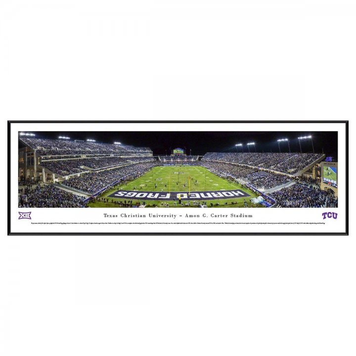 TCU Horned Frogs End Zone Standard Frame