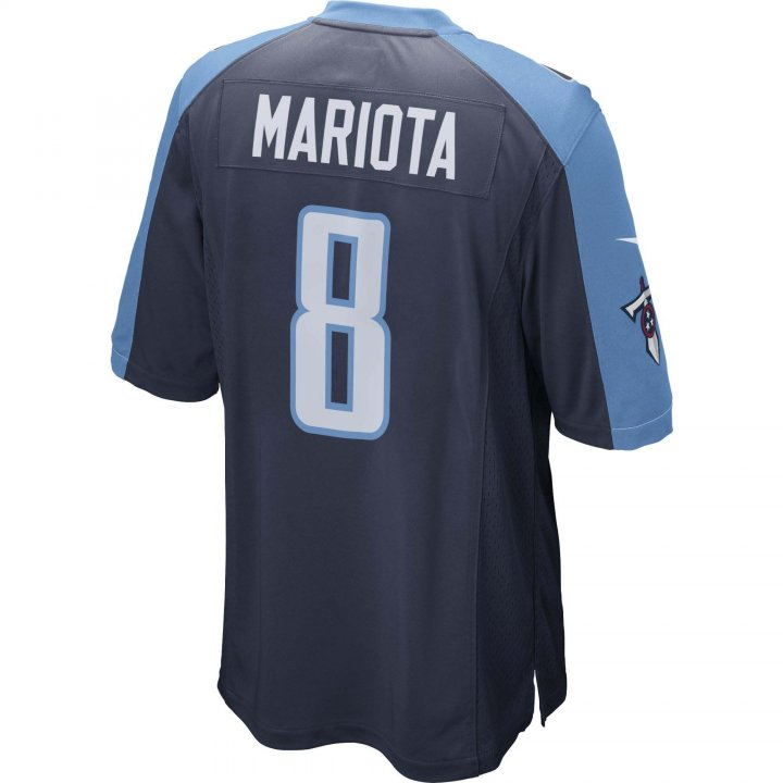 Marcus Mariota Tennessee Titans Nike Game Jersey (Navy)