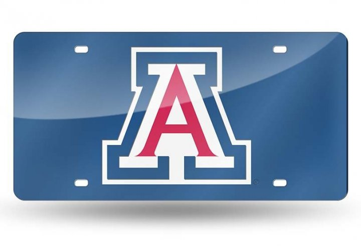 Arizona Wildcats NCAA Laser Cut Tag