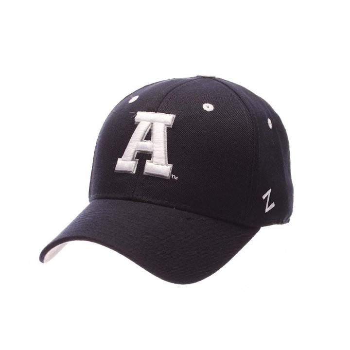 Utah State Aggies Zephyr NCAA Dh Fitted Hat (Navy)