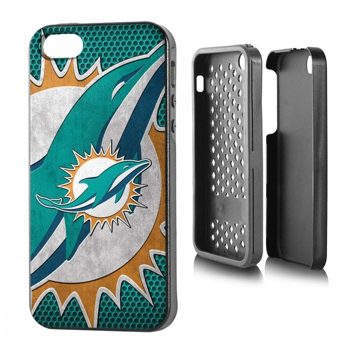 Miami Dolphins iPhone 5 Rugged Series Case