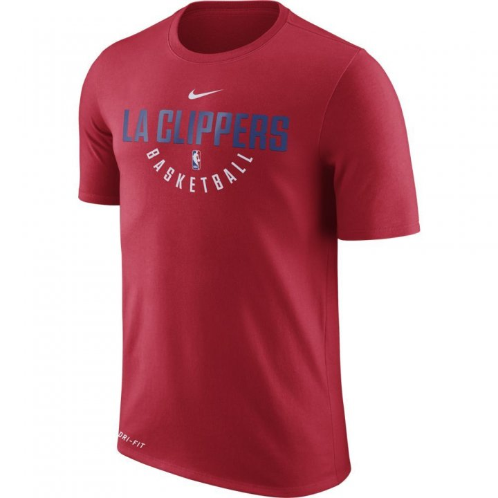 Los Angeles Clippers NBA Nike Official Practice Tee (Red)