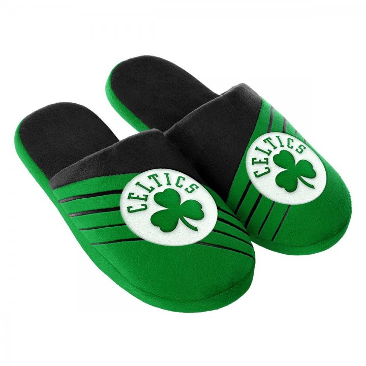 Boston Celtics Big Logo Slide Slippers