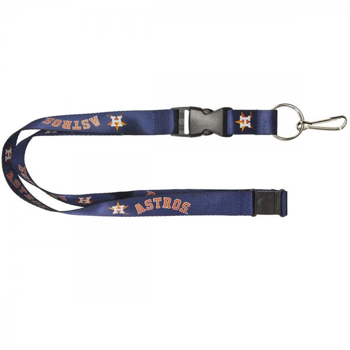 Houston Astros Logo Lanyard (Navy)