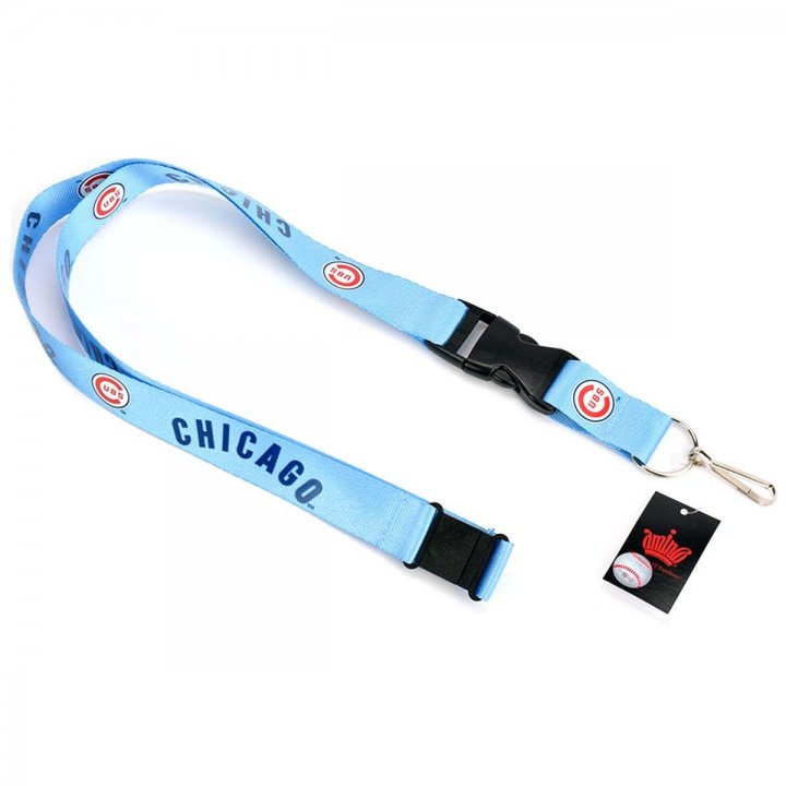 Chicago Cubs Cooperstown Lanyard (Blue)