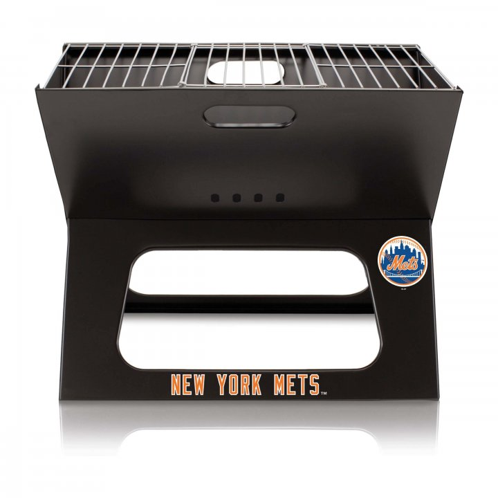 New York Mets X-Grill Portable BBQ Grill