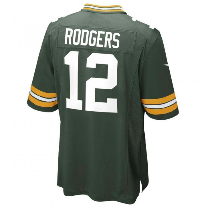 Aaron Rodgers Green Bay Packers Youth Nike Game Jersey (Green)