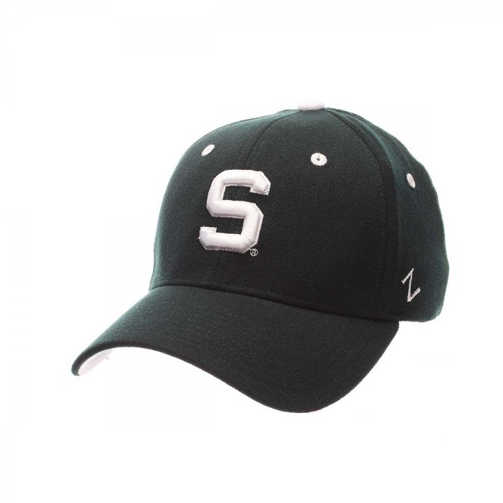 Michigan State Spartans ZH Stretch Hat (Green)