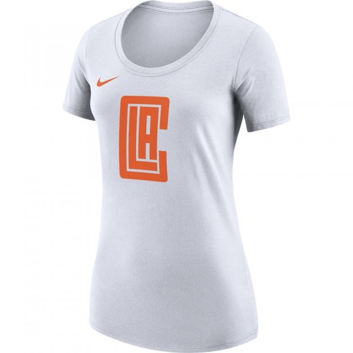 Los Angeles Clippers NBA Womens City Edition T-Shirt (White)