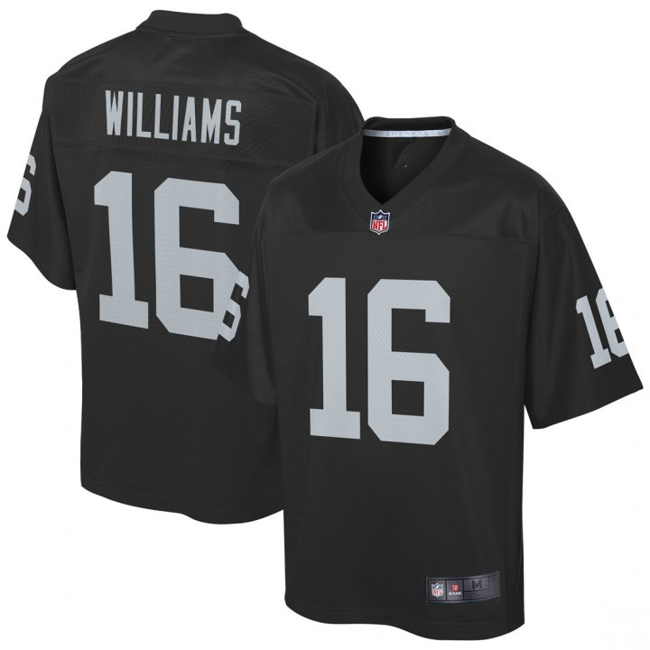 VF Youth Kids 16 Tyrell Williams Oakland Raiders Jersey Black