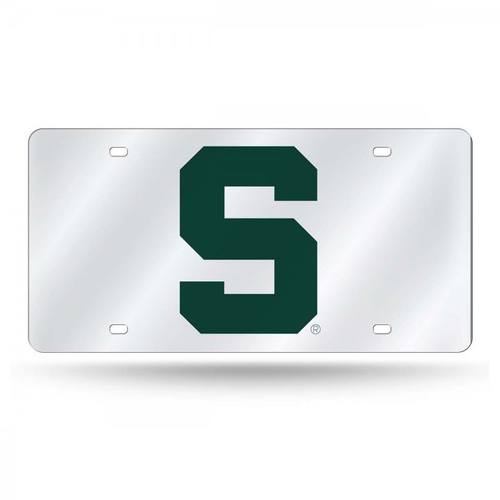 Michigan State Spartans NCAA Alternate Laser Cut License Plate Tag