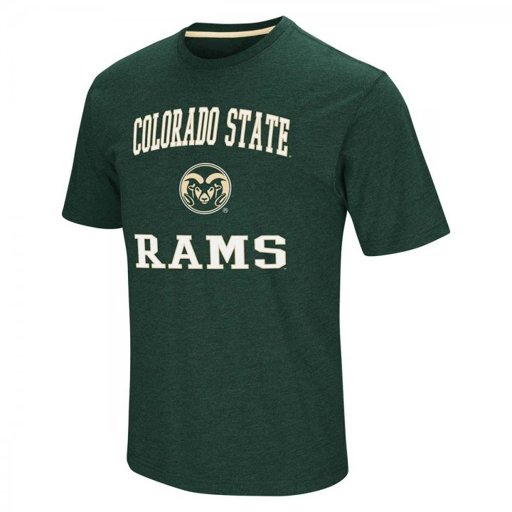Colorado State Rams NCAA Fun Run Tee (Green)