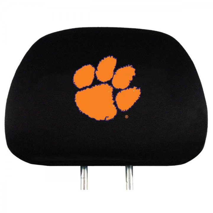 Clemson Tigers Headrest Cover