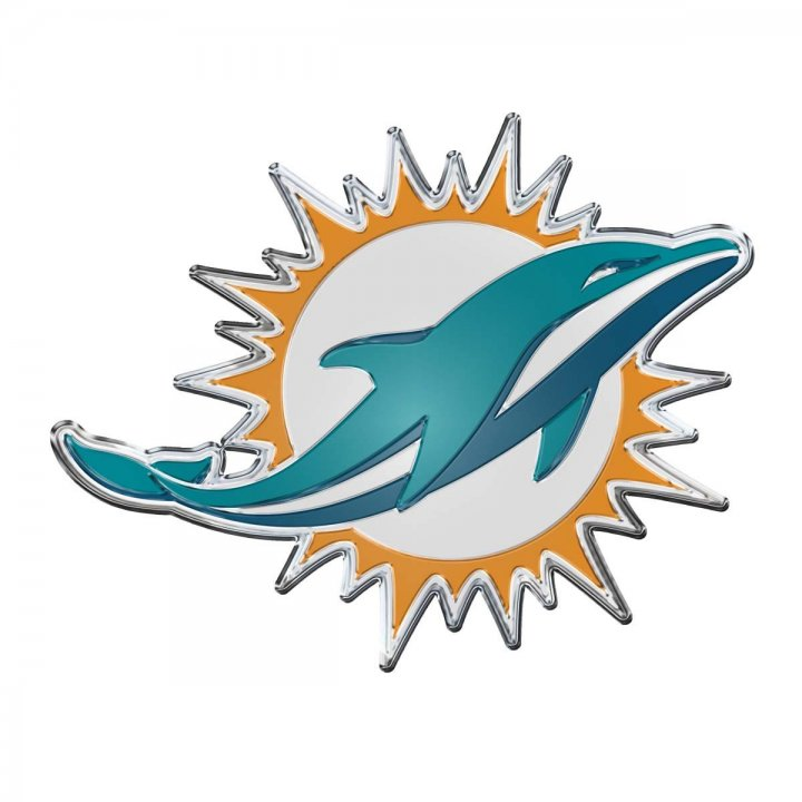 Miami Dolphins Color Emblem