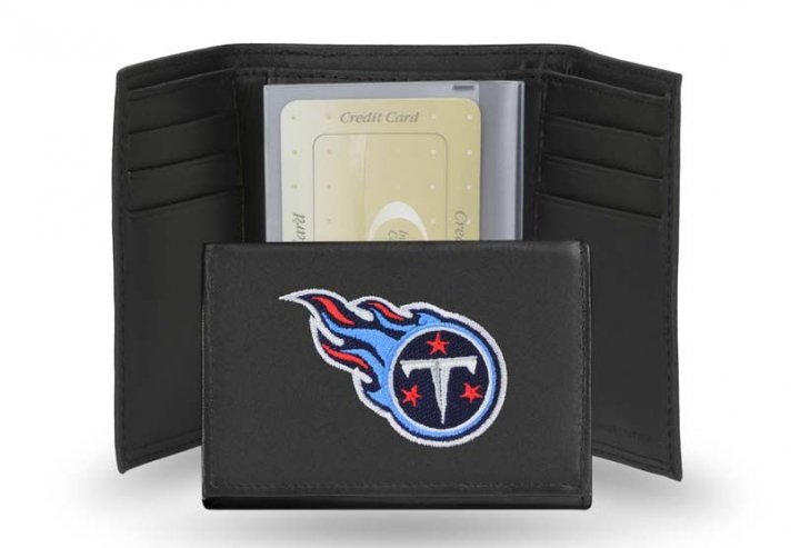 Tennessee Titans NFL Leather Wallet (Black)