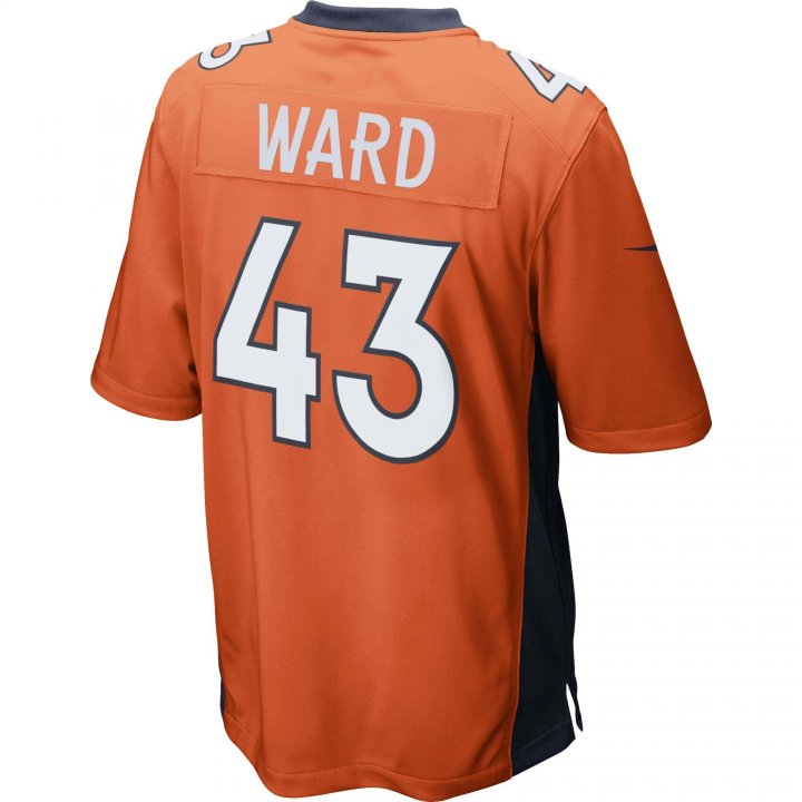 TJ Ward Denver Broncos Nike Game Jersey (Orange)