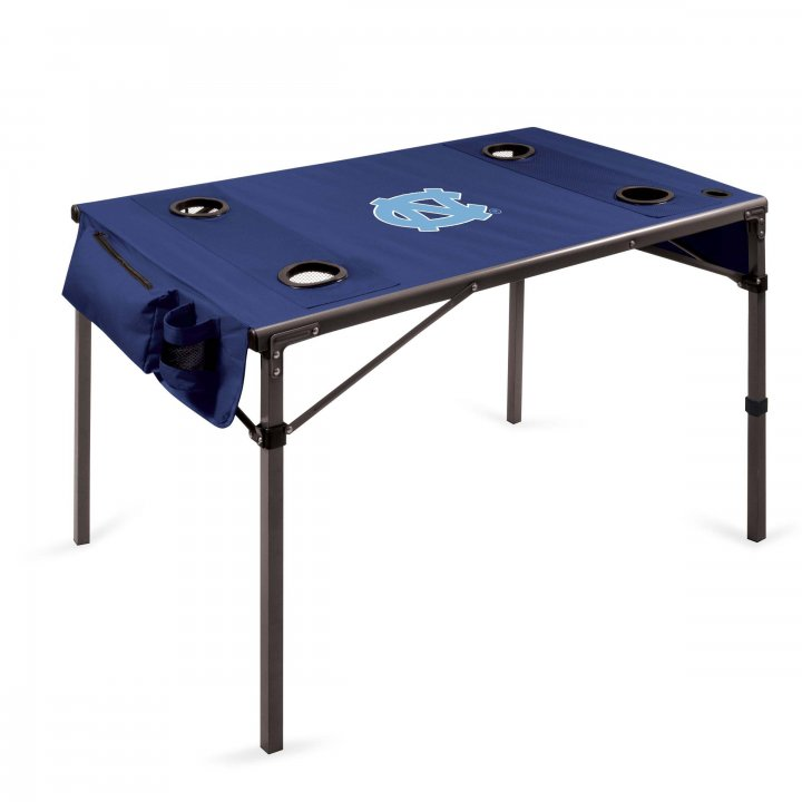 North Carolina Tar Heels Travel Table (Navy)
