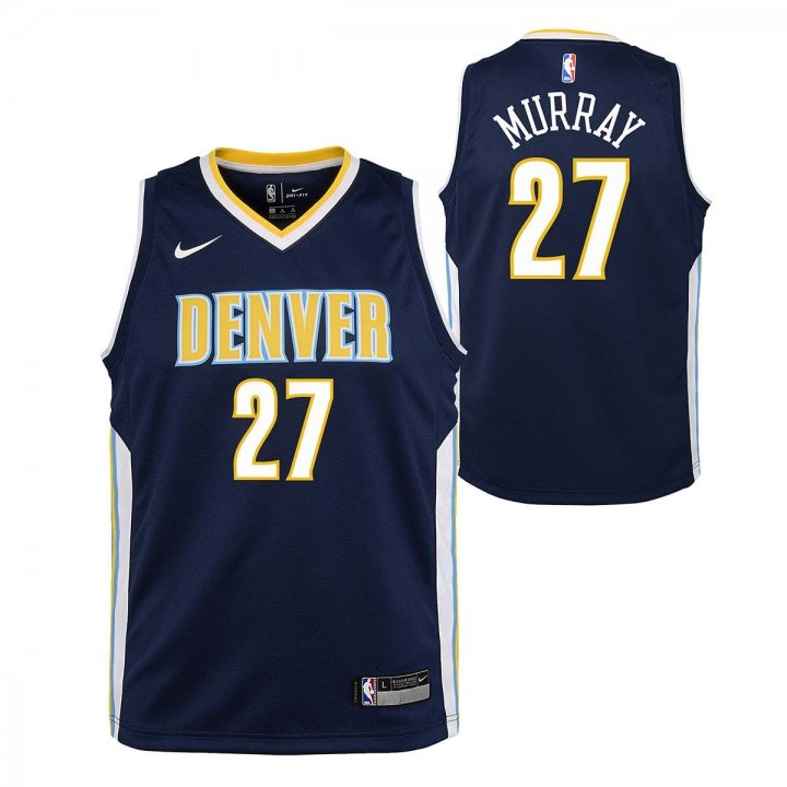 Denver Nuggets NBA Jamal Murray Youth Icon Swingman Jersey (Navy)