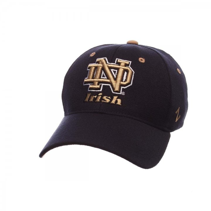 Notre Dame Fighting Irish ZH Stretch Hat (Navy)