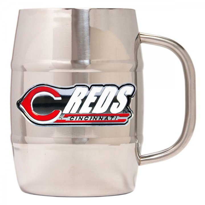 Cincinnati Reds Cincinnati Reds 32 oz Double Wall Stainless Steel Mug