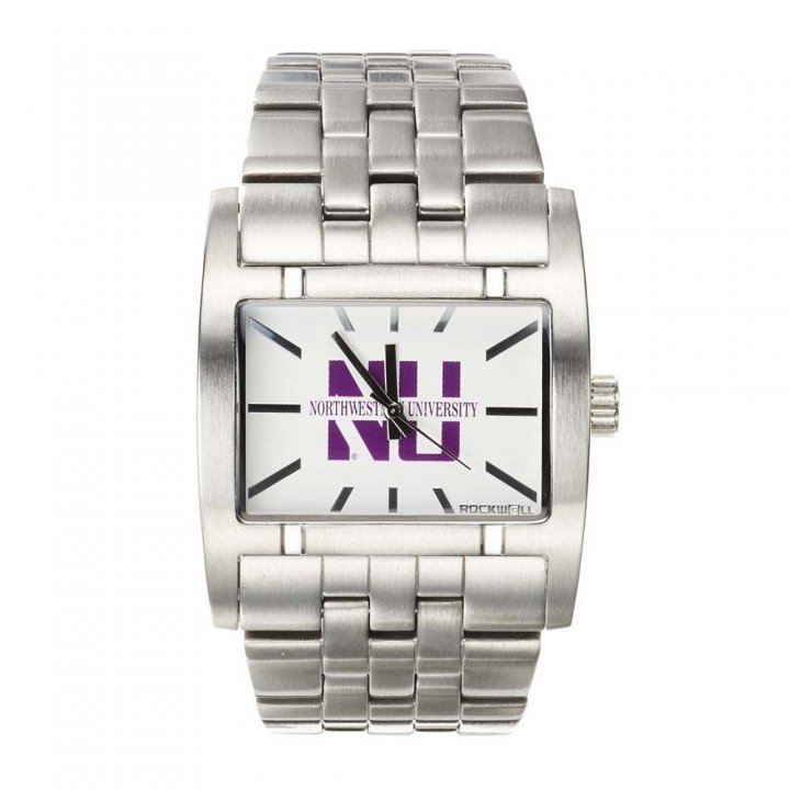 Northwestern Wildcats Apostle Watch (Silver)