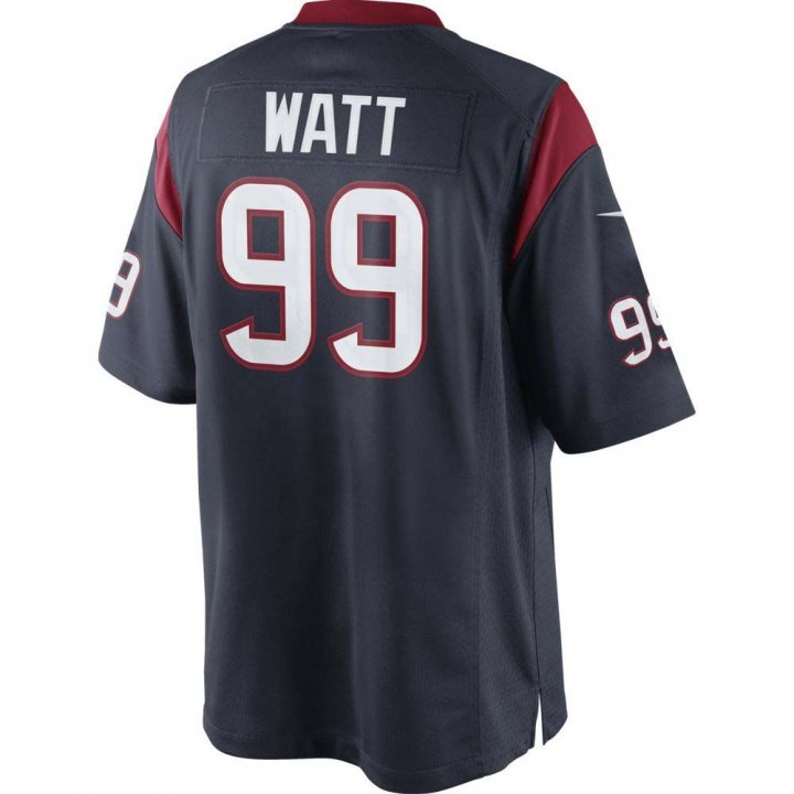 J.J. Watt Nike Houston Texans Game Jersey (Navy)