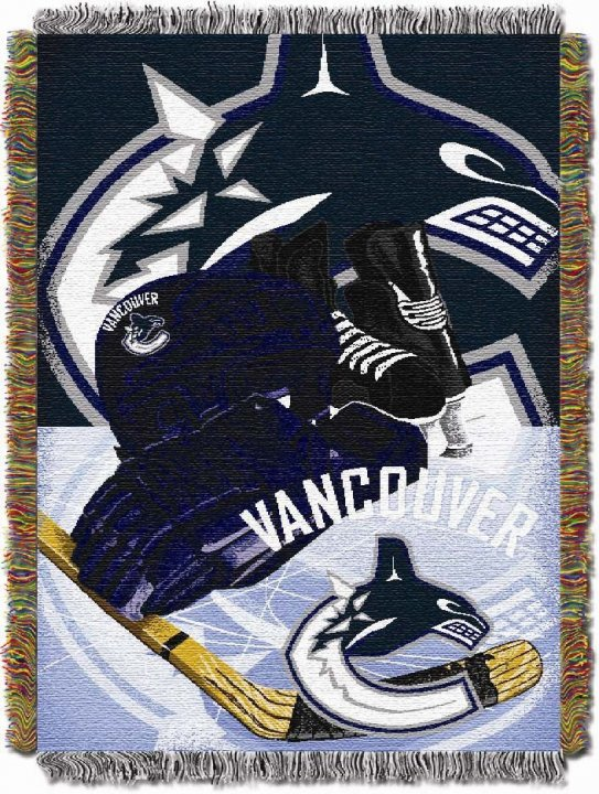 Vancouver Canucks Home Ice Advantage Throw