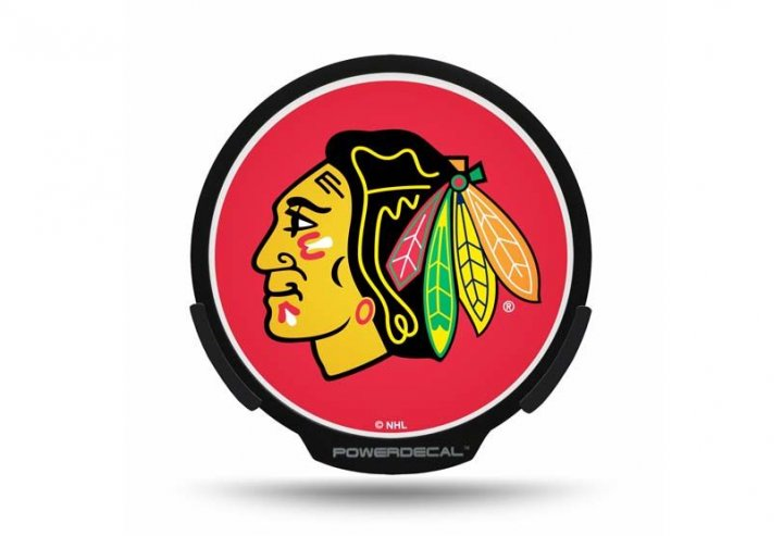 Chicago Blackhawks NHL Auto Powerdecal